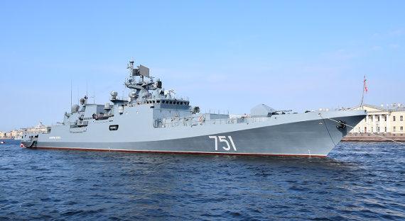 Вооруженный «Калибрами» русский  фрегат вышел впоход вСредиземное море