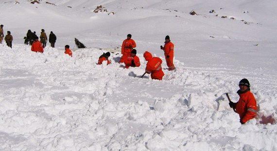 В Хакасии под лавиной погибло несколько человек