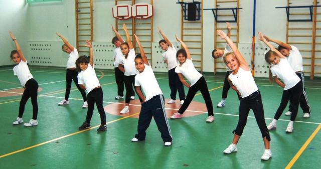 Фото детей физкультура в школе