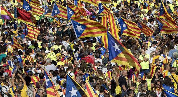 Лидер Каталонии потребует проведения референдума онезависимости 1октября