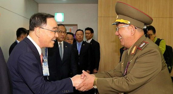 КНДР иЮжная Корея проведут сегодня переговоры вприграничной зоне