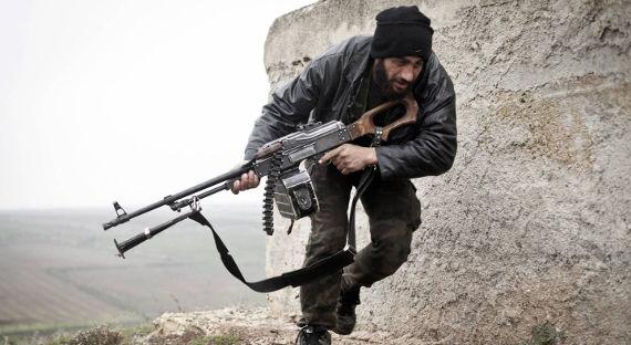Боевики сдали вСирии три танка идве гаубицы