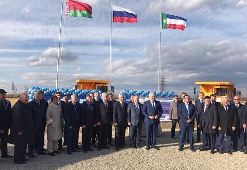ВХакасии построят сервисный центр «Белаз» за100 млн руб.