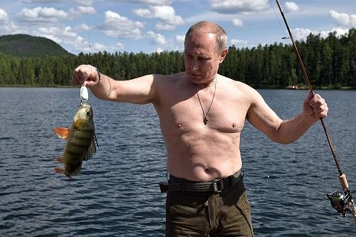 Размещено полное видео трехдневного отдыха В. Путина вТыве