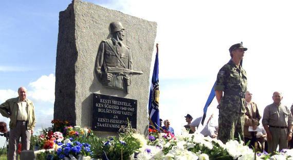 Воевавшим вдивизииСС эстонцам поставят знаменитый камень
