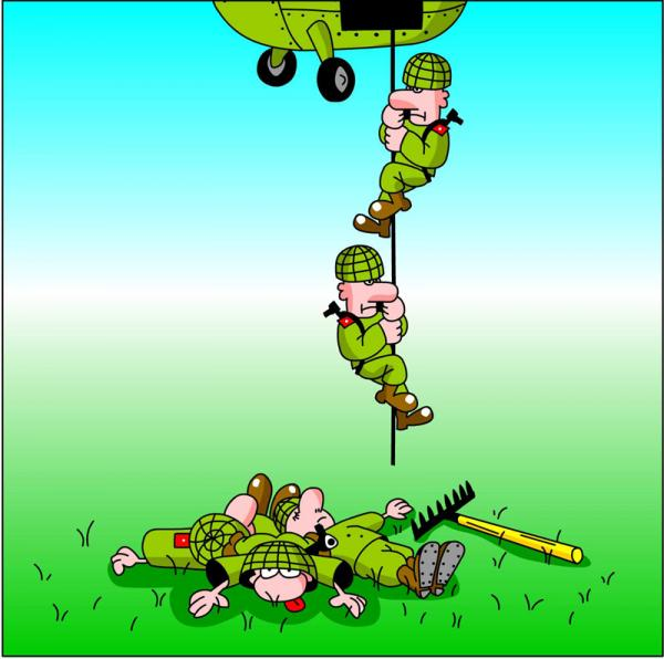 Ветеранам вов, смешные десантники в картинках