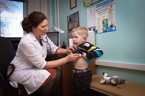 Наоснащение детских поликлиник область получит неменее  55 млн.  руб.