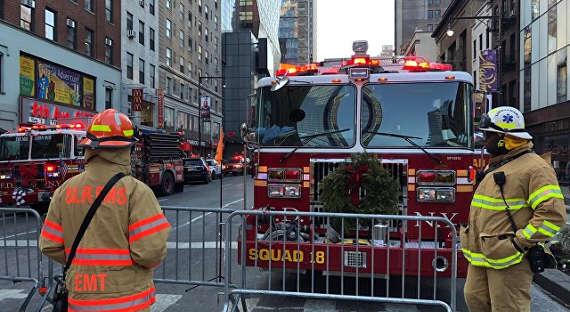 Посольство Российской Федерации отреагировало навзрыв вНью-Йорке
