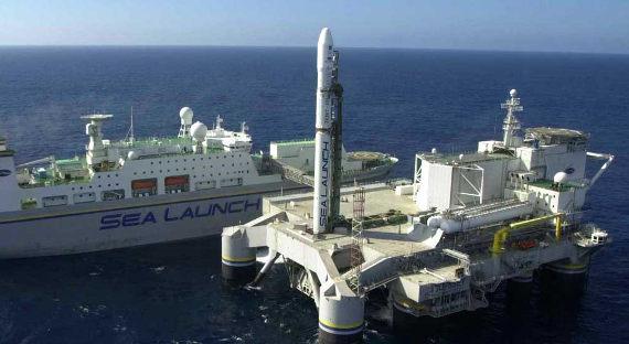 Сделка по закупке  плавучего космодрома «Морской старт» закрыта