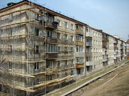 Ремонт фасада по программе капитального ремонта