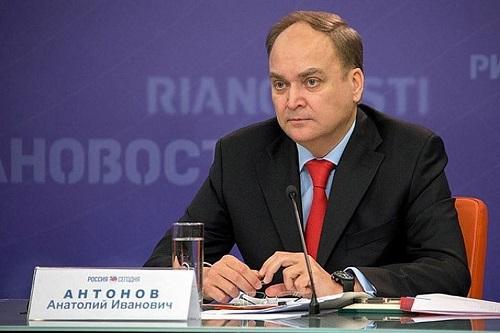 Антонов объявил оготовности Госдепа к разговору