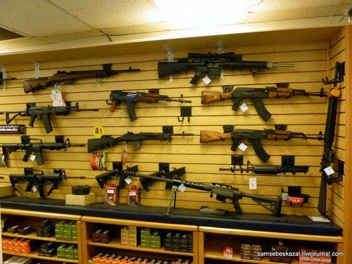 В США запускают продажи оружия через телемагазин