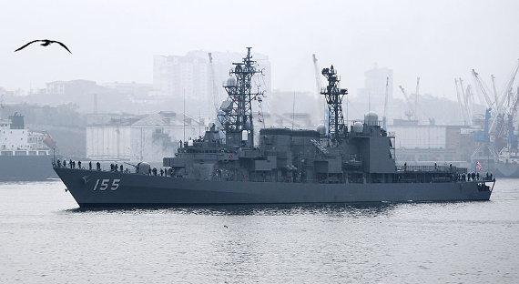 ВоВладивосток прибыл японский эсминец «Хамагири»