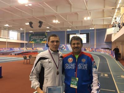 Нижегородец одержал победу золото полегкой атлетике напервенстве РФ