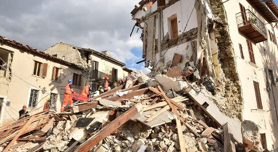 Землетрясение магнитудой 4,7 случилось вИталии