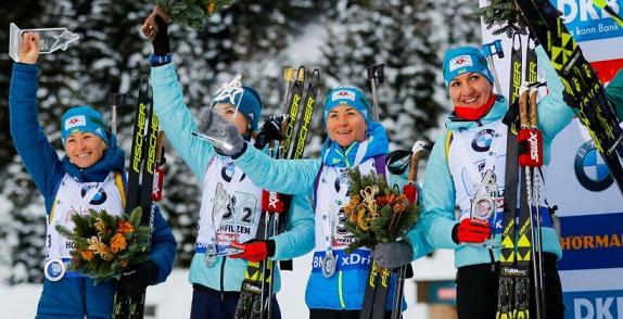 10 спортсменов вошли всостав сборной государства Украины насезон— Биатлон