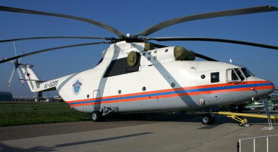Производство новоиспеченной версии вертолета Ми-26 начнется в последующем 2019-ом