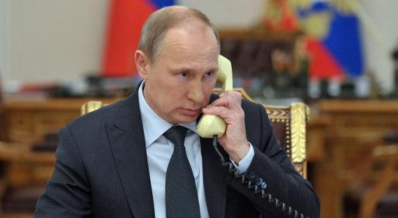 Путин поблагодарил Трампа: США передалиРФ информацию оподготовке теракта