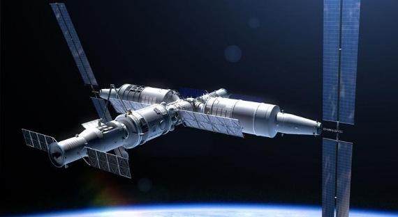 Предполагаемый облик лунной орбитальной станции