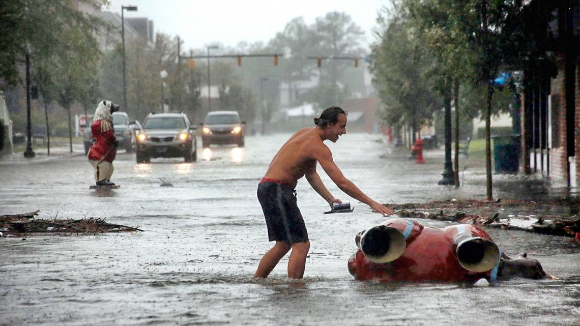 В США царит хаос: ураган «Флоренс» уносит жизни
