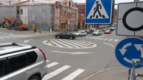 Новые правила проезда круговых перекрестков начнут действовать 8ноября