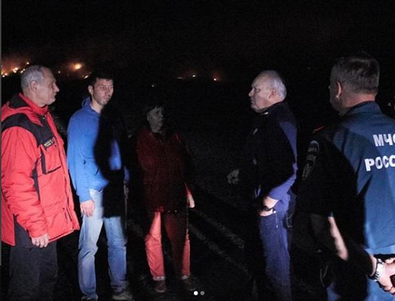 РежимЧС введен вхакасском Черногорске из-за пожара наполигоне