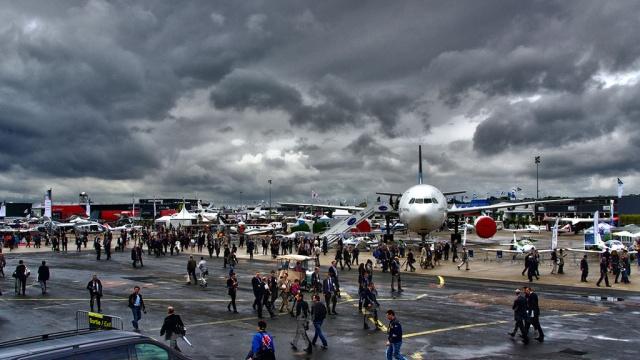 Международный авиасалон начинает работу вофранцузском ЛеБурже