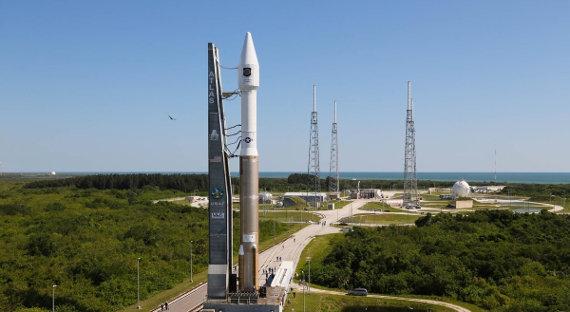 ВСША отложен запуск ракеты Atlas Vсвоенным спутником наборту