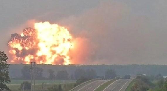 Взрывы вКалиновке: впроцессе разминирования изъято 1527 взрывоопасных предметов