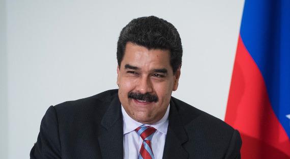 Мадуро поблагодарил В.Путина запризнание результатов выборов вВенесуэле