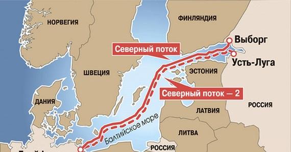 ВЕС приняли закон, который может заблокировать газопровод В. Путина вобход Украины