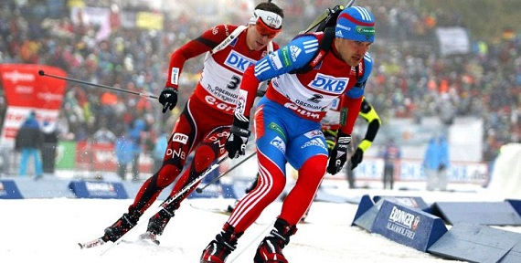 «Рождественскую гонку» вГермании выиграли биатлонисты из РФ