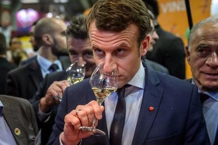 Президент Франции Макрон устраивает досрочный юбилей взамке