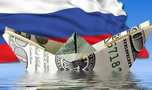 Из Российской Федерации  резко возросло  «бегство» капитала