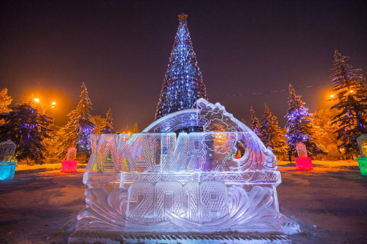 фото зимнего абакана