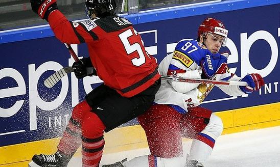 Россия проиграла Канаде вчетвертьфиналеЧМ похоккею