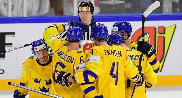 Шведские хоккеисты 2-ой раз подряд стали чемпионами мира