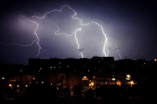Ущерб от урагана по всей Хакасии