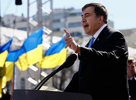 ВКиеве решили выслать Саакашвили сУкраины доконца года