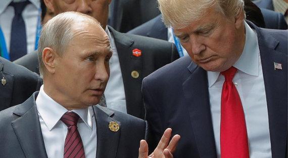 Трамп пригласил В. Путина вВашингтон