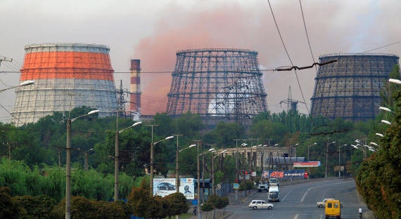Вгосударстве Украина  из-за забастовки приостановил  работу крупнейший металлургический комбинат
