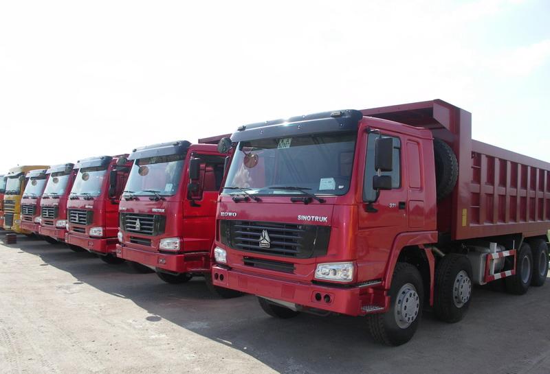 Китайские грузовики в России