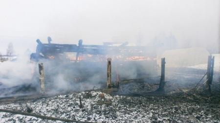 Сгоревшему вЯрославской области дому было около ста лет