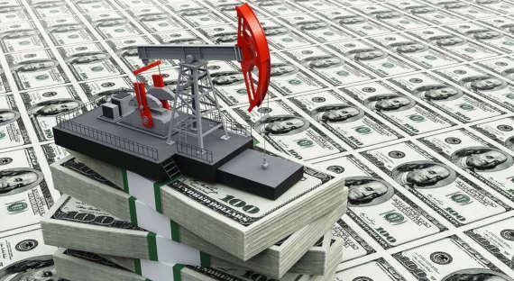 Цена нанефть марки WTI подросла неменее чем на10%