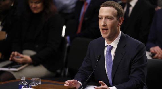 Фейсбук находится всостоянии «гонки вооружений» из-за Российской Федерации - Цукерберг