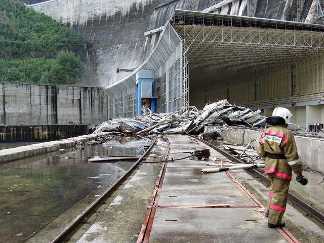 После аварии на СШ ГЭС