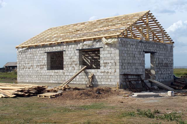 Строительство социально-культурного центра в аале Шурышев