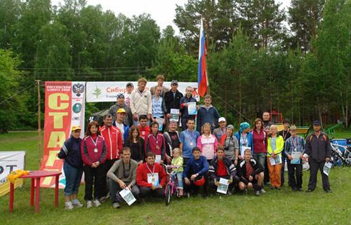 Все участники соревнований