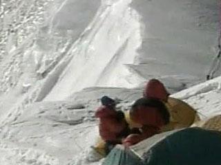 Упавший альпенист