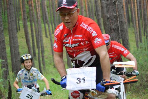 Валерий Денщиков на трассе